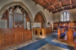 'St Mary's Church, Lesbury' by Dave Dixon LRPS
