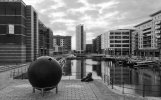 'Leeds Canal Basin' by David Carter