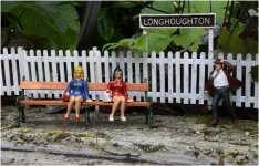 'Girls' Day Out - Welcome To Longhoughton' by Jane Coltman CPAGB