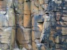 'Rock Face, Craster' by Rosie Cook-Jury