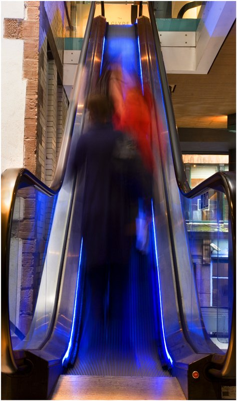 'Blue Escalator' by Jane Coltman CPAGB