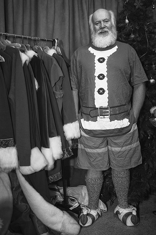 'Ivan Laidler, The Man Who Would Be Santa' by Micheal Mundy